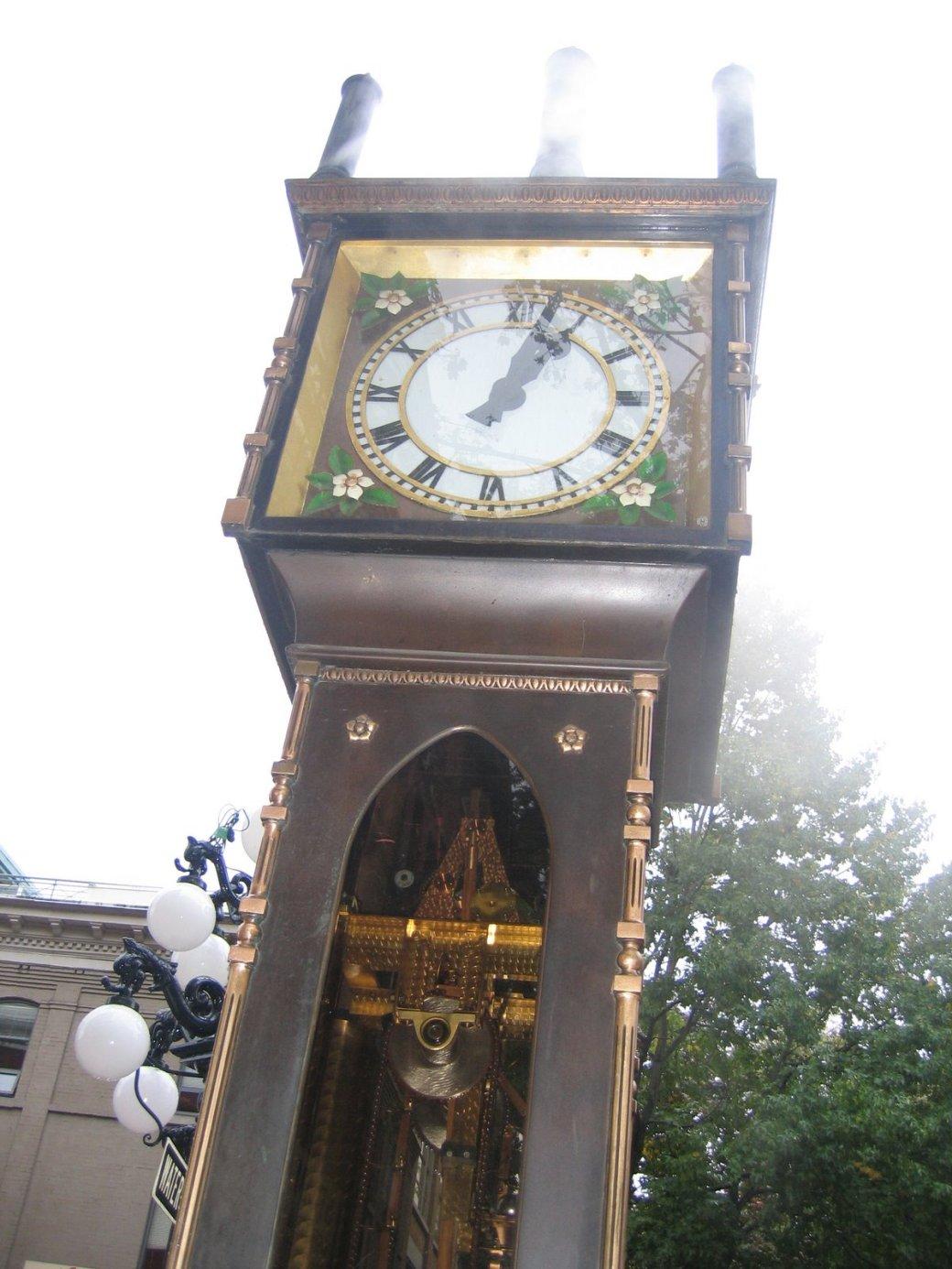 The clock!