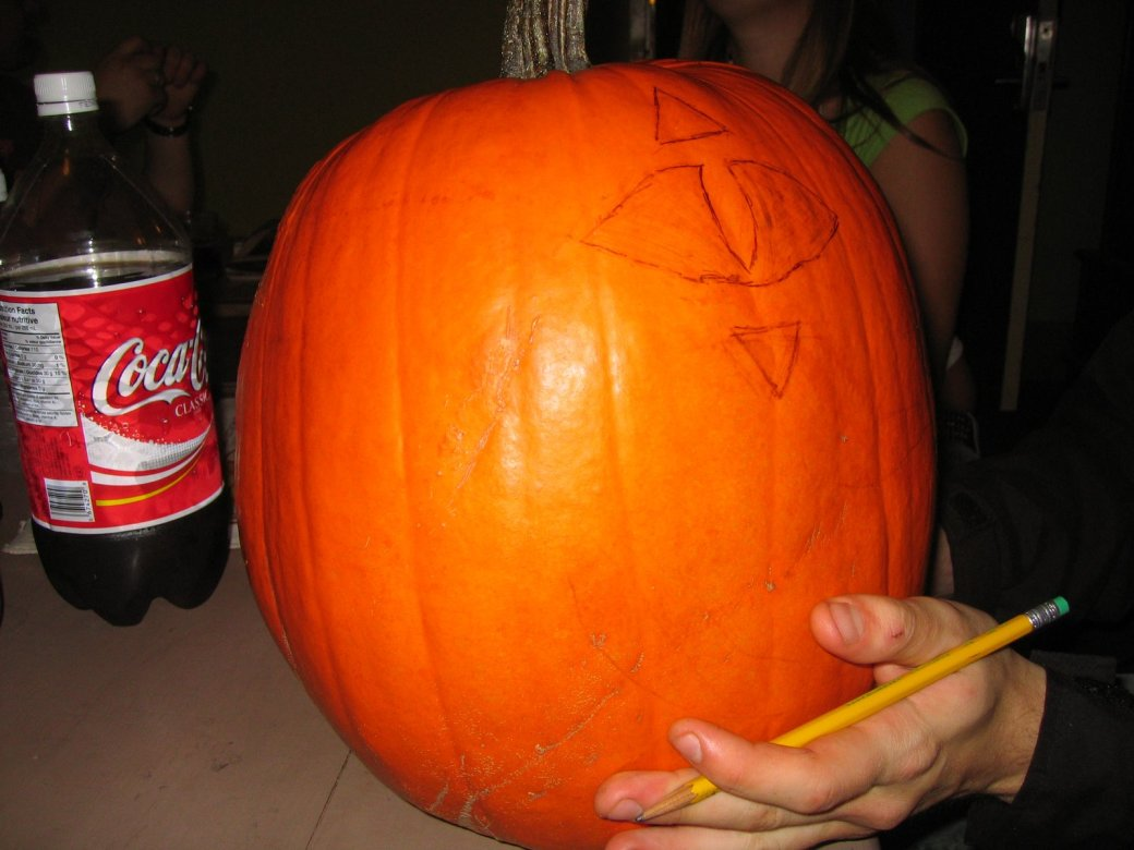 Some fine pumpkin work there!