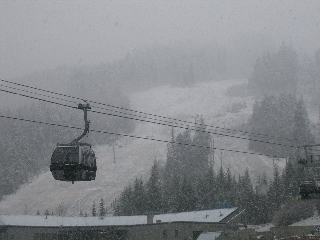 Blackcomb Gondola near Base II