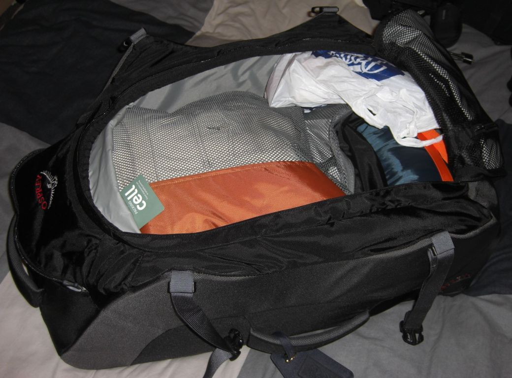 The bag with the contents above in it`