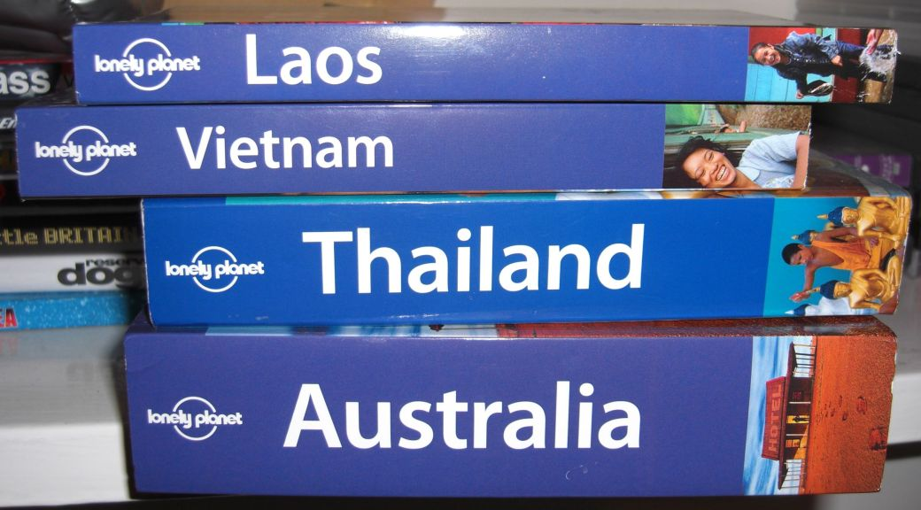 Lonely Planet books collection - so far at least