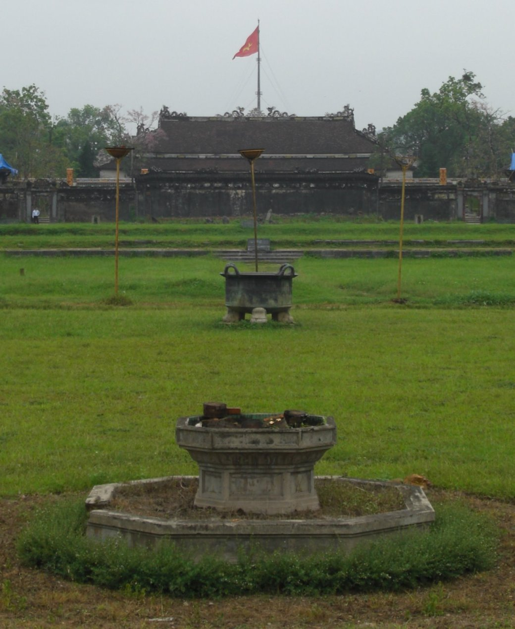 The Forbidden Purple City main gardens