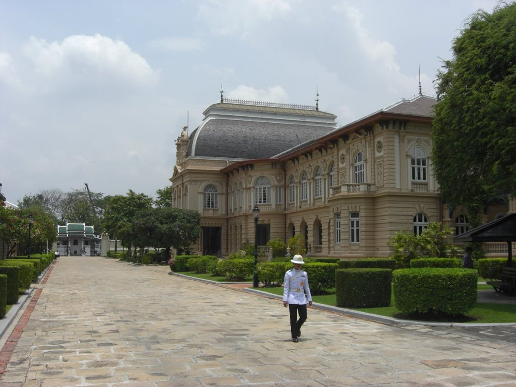The more modern parts of the palace