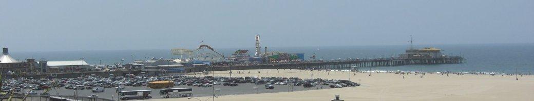 Santa Monica Beach and Pier!