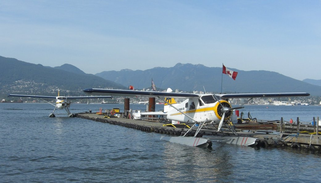 The Seaplanes!