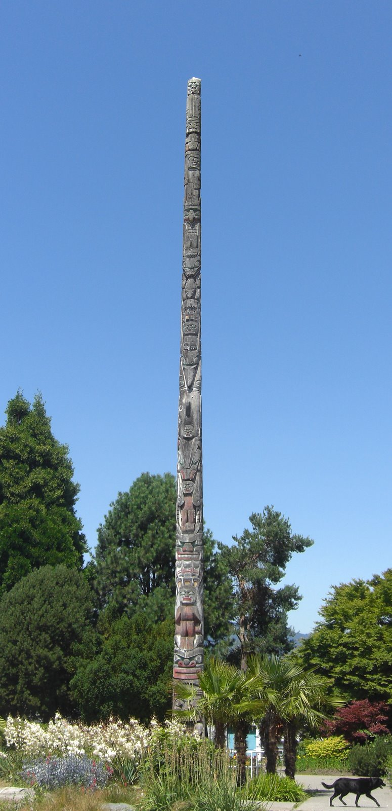 A Totem Pole in Kits