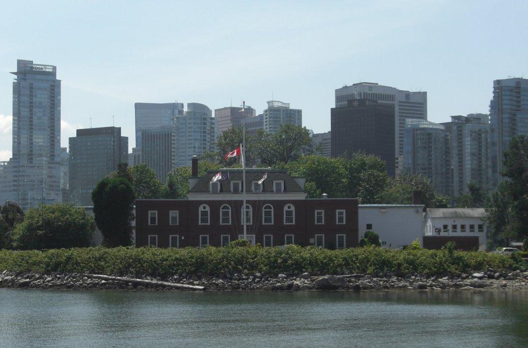 HMCS Discovery on Deadman's Island