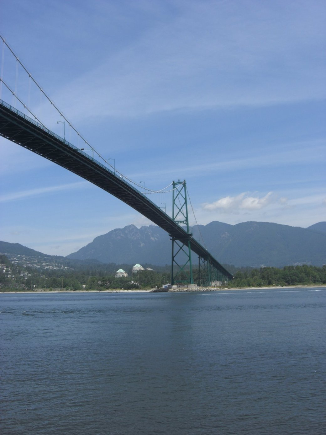 Another one of the Lion's Gate Bridge