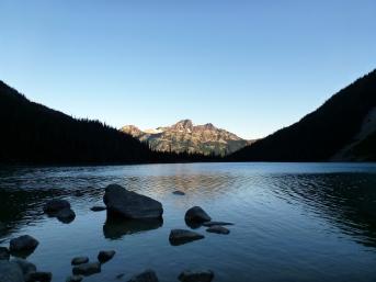 Ahhhhh Upper Joffre Lake in morning!