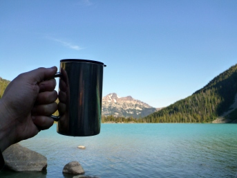 Love this simple Thermos mug I got at MEC! And what a great way to wake up