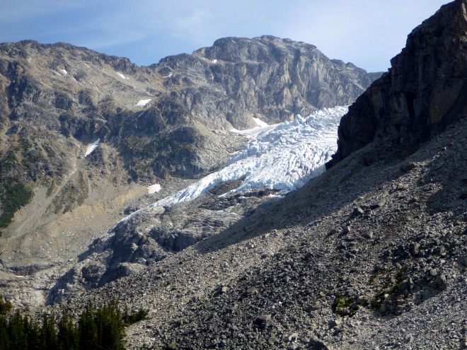 More Glacier still, as from the dayhike