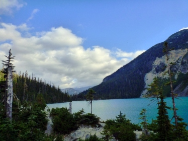 Morning Upper Joffre Lake!
