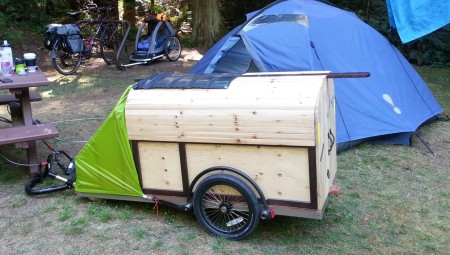 Absolutely awesome home built bike trailer